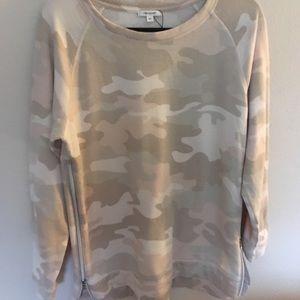 Cozy camo sweatshirt